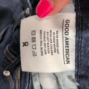 Good American Jeans - Good American Size 2/25 Good Legs Skinny Jean 089